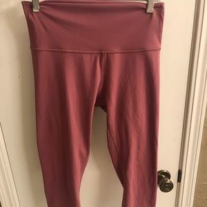 Lululemon Capri Workout Pants